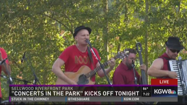 "PDX Tonight: Chervona kicks off ""Concerts in the Park"" series"