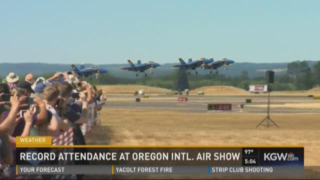 Record attendance at International Air Show