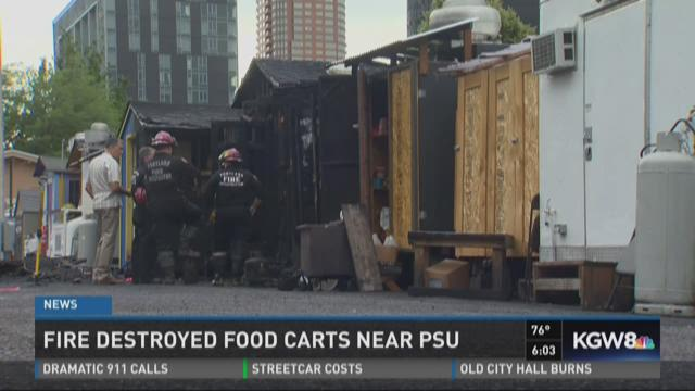 Food Carts Near Psu
