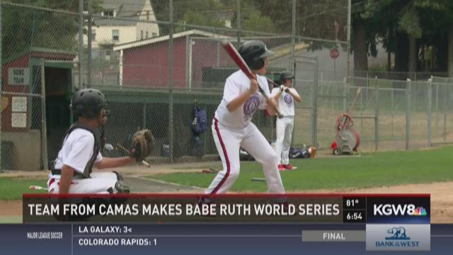 Team from Camas makes Babe Ruth World Series