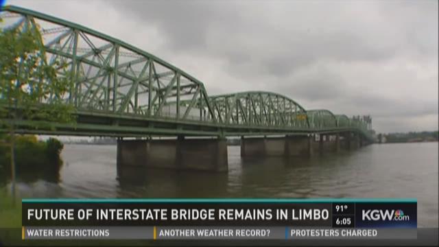 Future of Interstate Bridge remains in limbo