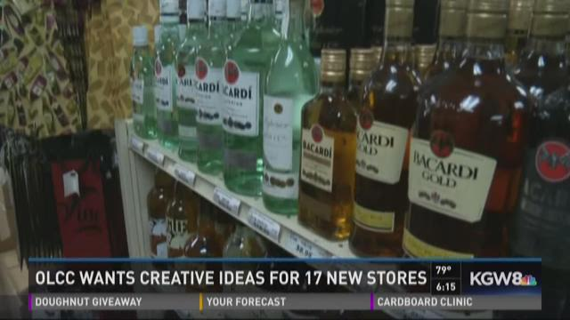 OLCC wants creative ideas for 17 new stores