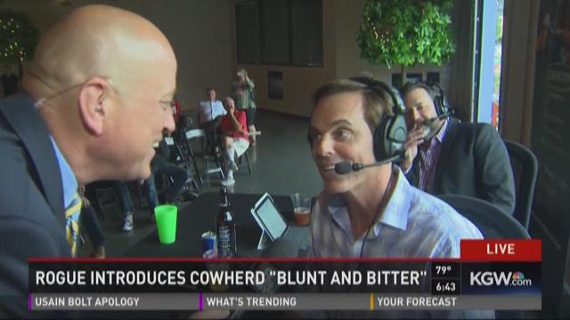 Rogue introduces Cowherd 'Blunt and Bitter'