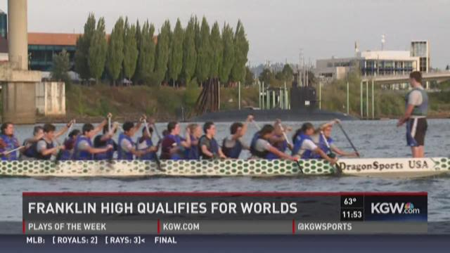 Franklin High dragon boat team headed to Worlds