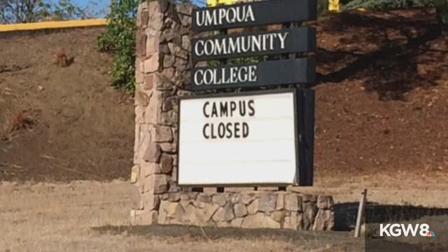 Umpqua Community College scene