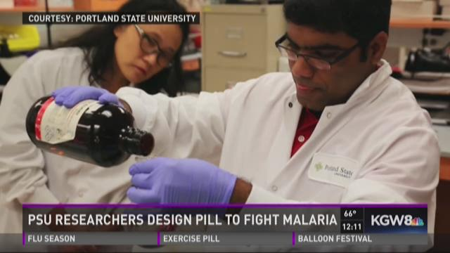 PSU develops one-dose malaria cure