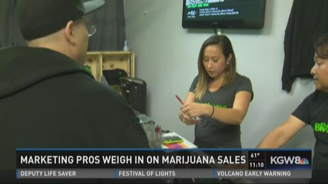Marketing pros weigh in on marijuana sales