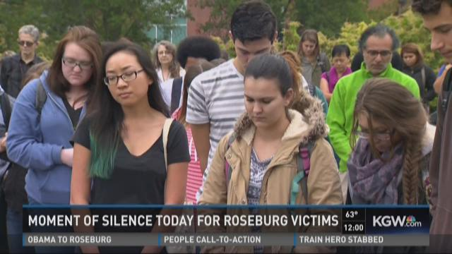 National 'moment of silence' for UCC victims