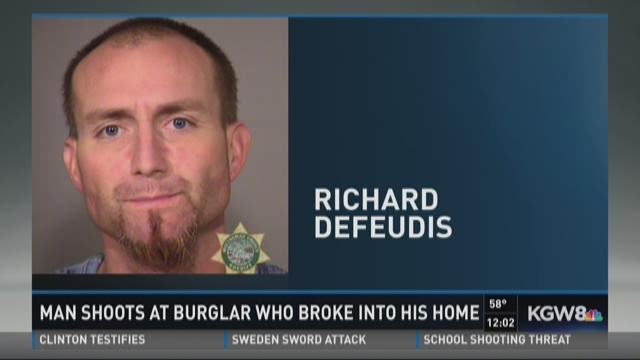 Burglary suspect arrested in NW Portland after gunfire
